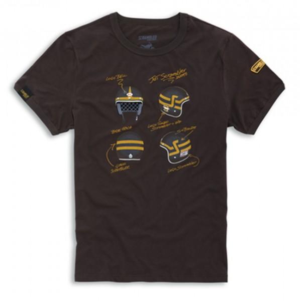 SCRAMBLER DUCATI Short Trackers T-Shirt