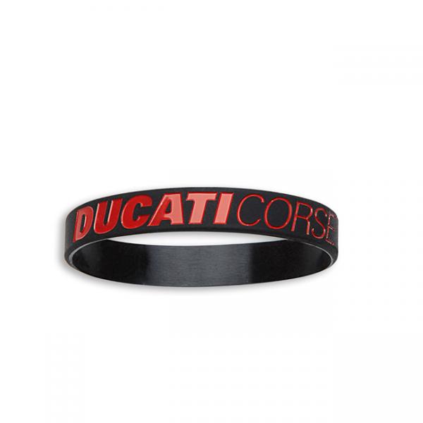 DUCATI Corse Silikon Armband