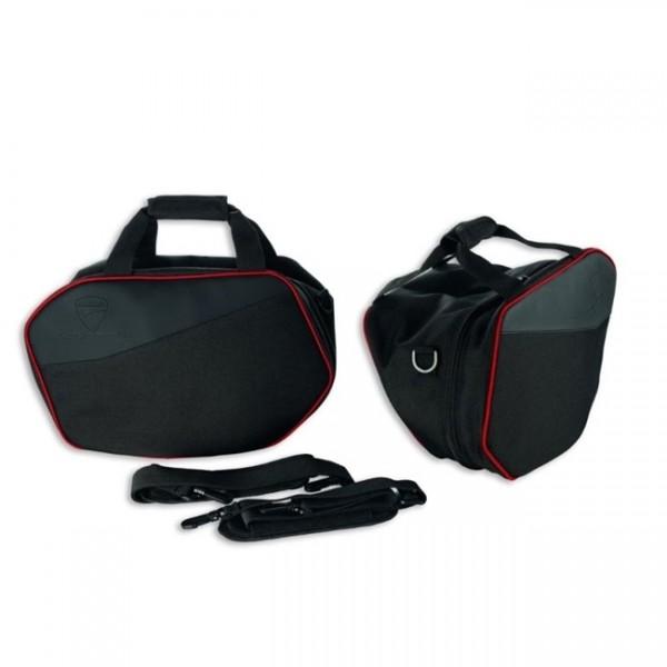 DUCATI Set Innentaschen für Schalenkoffer aus Kunststoff