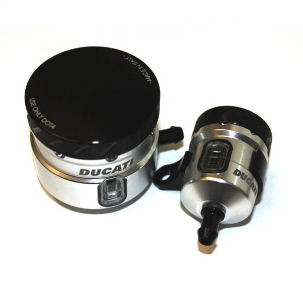 Ducati Performance Paar Brems- und Flüssigkeitsbehälter für Monster 1200