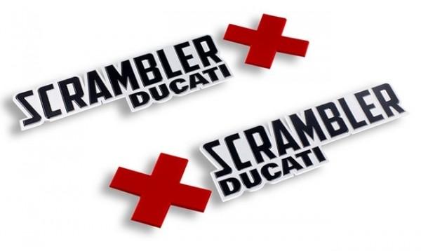 DUCATI Scrambler 800 Satz Tankaufkleber Urban Enduro Logos