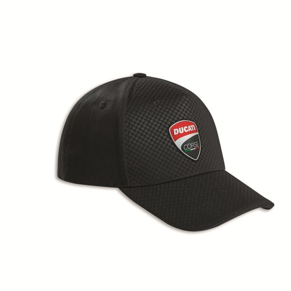 DUCATI Total Black Cap