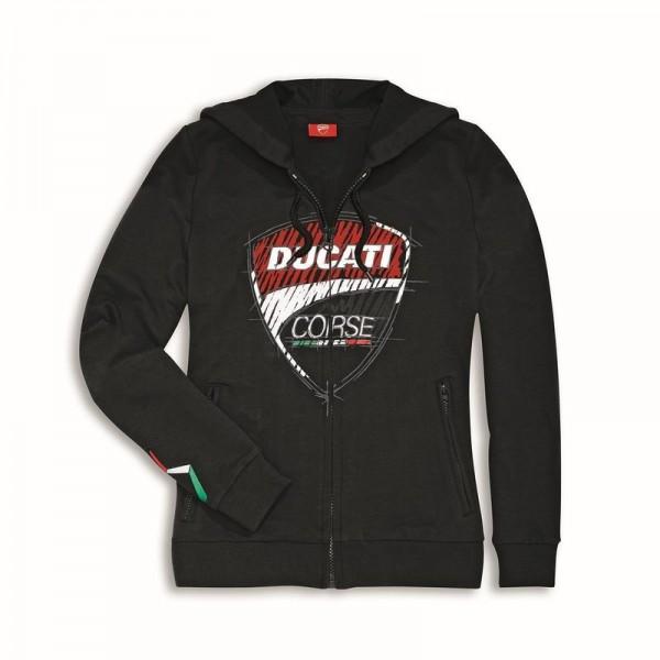 DUCATI Damen Kapuzen-Sweatshirt