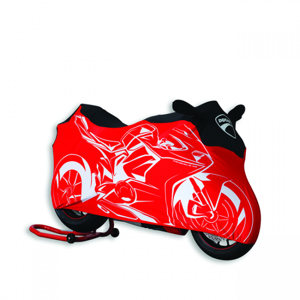 DUCATI Motorradabdecktuch für Panigale V4 Indoor