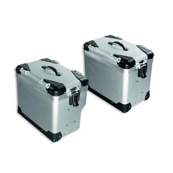 DUCATI Seitenkoffer aus Aluminium
