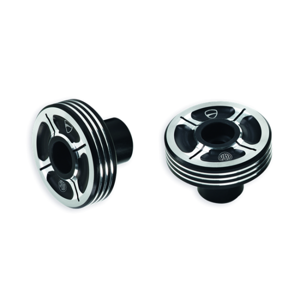 DUCATI Lenker-Gegengewichte aus Aluminium