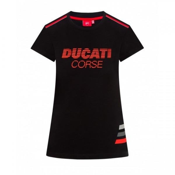 DUCATI Corse Striped T-Shirt
