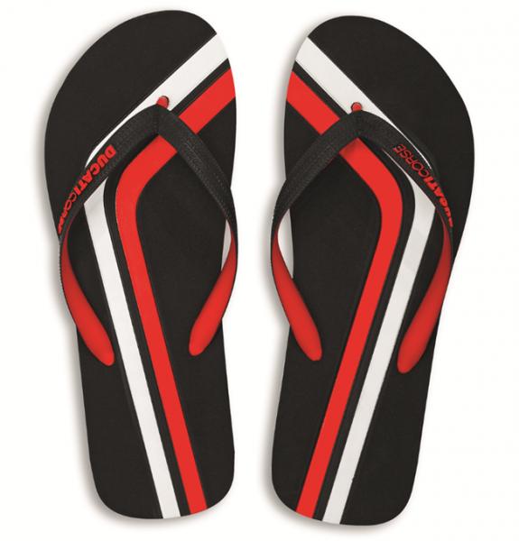 DUCATI Bade Flip-Flops DC Stripe